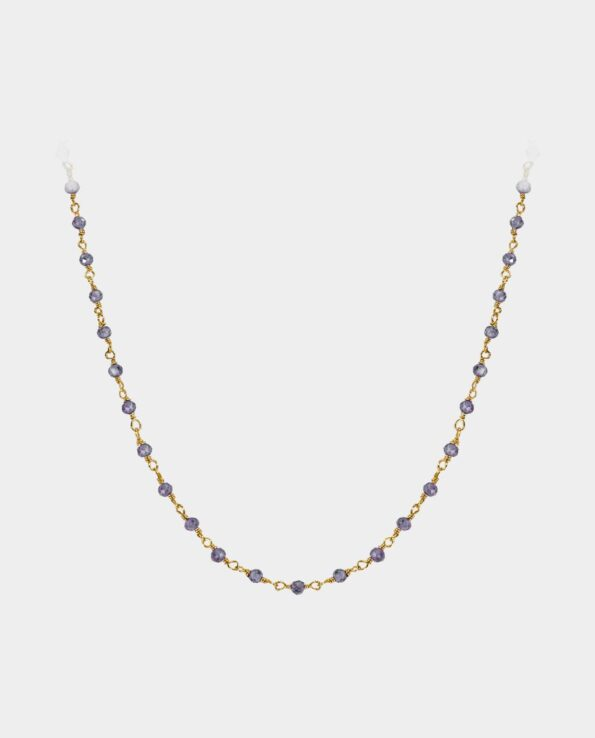 Necklace with iolites that makes you seem in harmony with yourself from Copenhagen