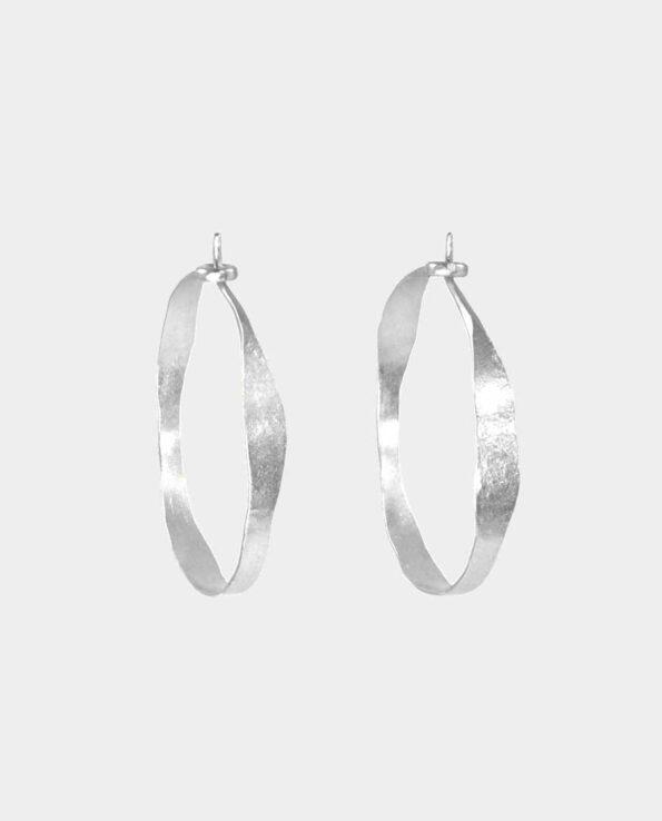 Sølvkreoler fra smykkeshop i Kbh K - gaven til din elskede i ægte håndlavet design